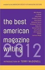 Best American Magazine Writing 2012 1st Edition 9780231162234 0231162235