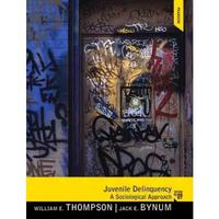Juvenile Delinquency 9th Edition 9780205246533 0205246532