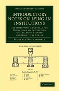 Introductory Notes on Lying-In Institutions 1st Edition 9781108053198 110805319X