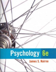 Psychology 6th Edition 9781285092263 1285092260