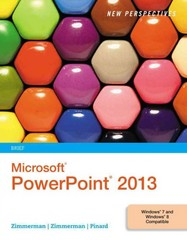 New Perspectives on Microsoft PowerPoint 2013, Brief 1st Edition 9781285956411 1285956419