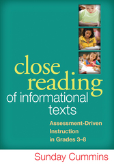 Close Reading of Informational Texts 1st Edition 9781462507818 1462507816