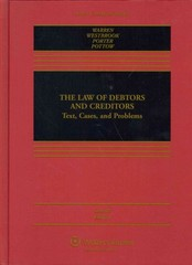 The Law of Debtors and Creditors 6th Edition 9781454822387 1454822384