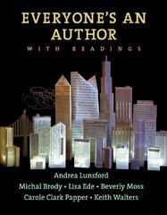 Everyone's An Author with Readings 1st Edition 9780393912012 0393912019