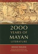 2000 Years of Mayan Literature 1st edition 9780520232211 0520232216