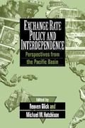Exchange Rate Policy and Interdependence 0 9780521461108 0521461103