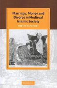 Marriage, Money and Divorce in Medieval Islamic Society 1st Edition 9780521045803 0521045800
