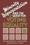 Minority Representation and the Quest for Voting Equality 0 9780521391283 0521391288