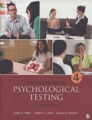 Foundations of Psychological Testing 5th Edition 9781483369242 1483369242