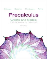 Precalculus 5th Edition 9780321845382 0321845382