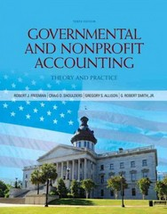 Governmental and Nonprofit Accounting 10th Edition 9780133060423 013306042X