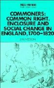Commoners 1st Edition 9780521567749 0521567742