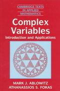 Complex Variables 2nd edition 9780521534291 0521534291