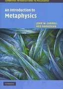 An Introduction to Metaphysics 1st Edition 9780521533683 0521533686