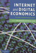 Internet and Digital Economics 1st edition 9780521671842 0521671841