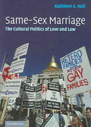 Same-Sex Marriage 1st edition 9780521672511 0521672511