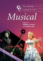 The Cambridge Companion to the Musical 2nd Edition 9780521680844 0521680840