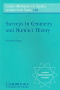 Surveys in Geometry and Number Theory 1st edition 9780521691826 0521691826