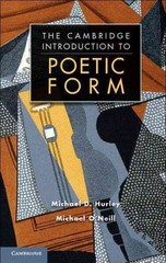 Poetic Form: An Introduction 1st Edition 9781139415255 1139415255