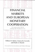 Financial Markets and European Monetary Cooperation 0 9780521495479 0521495474