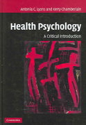 Health Psychology 1st Edition 9780511144806 0511144806