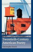 The Cambridge Introduction to Twentieth-Century American Poetry 0 9780521891493 0521891493