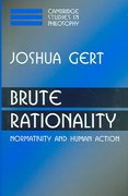 Brute Rationality 1st edition 9780521039536 0521039533