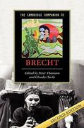 The Cambridge Companion to Brecht 2nd edition 9780521857093 0521857090