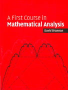A First Course in Mathematical Analysis 0 9780521684248 0521684242
