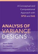 Analysis of Variance Designs 1st edition 9780521874816 0521874815