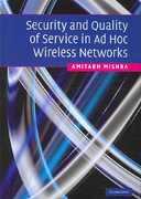 Security and Quality of Service in Ad Hoc Wireless Networks 1st edition 9780521878241 0521878241
