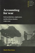 Accounting for War 0 9780521482653 0521482658
