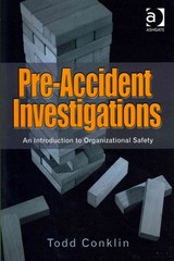 Pre-Accident Investigations 1st Edition 9781409447849 1409447847