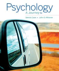 Psychology 5th Edition 9781133957829 113395782X