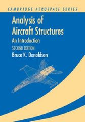 Analysis of Aircraft Structures 2nd Edition 9781107668669 1107668662