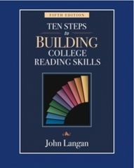 Ten Steps to Building College Reading Skills 5th edition 9781591942436 1591942438
