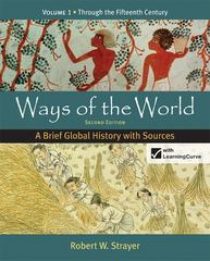 Ways of the World 2nd Edition 9780312583484 0312583486