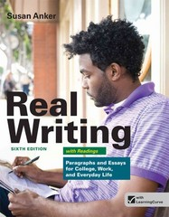 Real Writing with Readings 6th Edition 9781457601996 1457601990