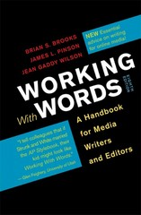 Working with Words 8th Edition 9781457604935 1457604930