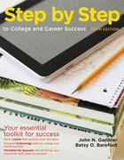 Step by Step to College and Career Success 5th Edition 9781457606342 1457606348