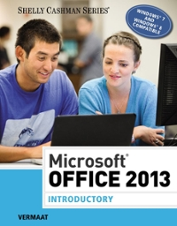 Microsoft Office 2013 1st Edition 9781285166025 1285166027