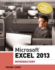 Microsoft Excel 2013 1st Edition 9781285168562 1285168569