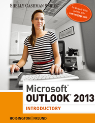 Microsoft Outlook 2013 1st Edition 9781285168852 1285168852