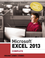 Microsoft Excel 2013 1st Edition 9781285168449 1285168445