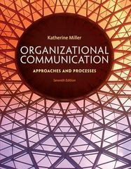 Organizational Communication 7th Edition 9781285164205 1285164202