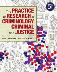 The Practice of Research in Criminology and Criminal Justice 5th Edition 9781452258195 1452258198