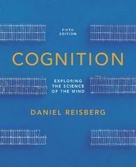 Cognition 5th Edition 9780393913125 0393913120