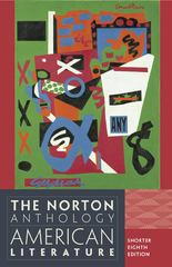 The Norton Anthology of American Literature 8th edition 9780393918854 0393918858