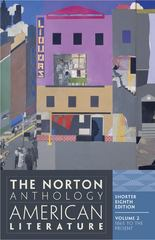 The Norton Anthology of American Literature, Shorter Edition 8th Edition 9780393918878 0393918874