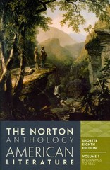 The Norton Anthology of American Literature 8th edition 9780393918885 0393918882